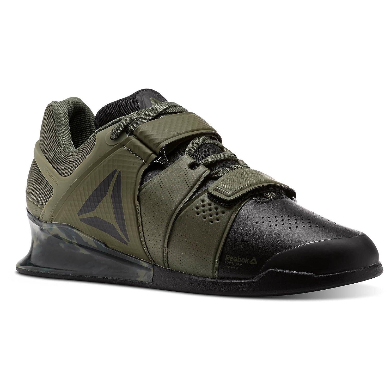 3c627e0e71ea6 Reebok Legacy Lifter Shoe Men s Weightlifting Green Size  8.5 UK   Amazon.co.uk  Shoes   Bags
