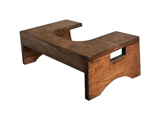 Amazon.com: Toilet Stool Bathroom Stool by CW Furniture, Custom Wood ...