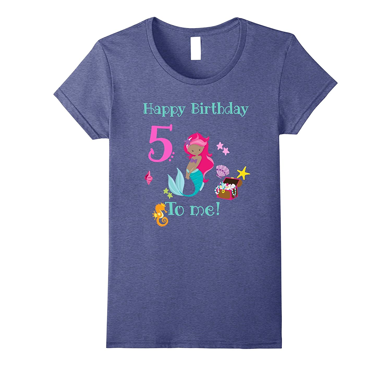 Mermaid 5th Birthday Shirt