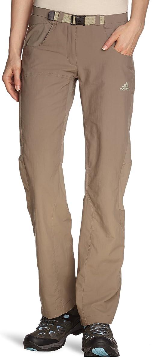 Adidas Women Hiking Trekking Pantalones Para Mujer Tamano 44 Uk Color Titan Gris Amazon Es Ropa Y Accesorios