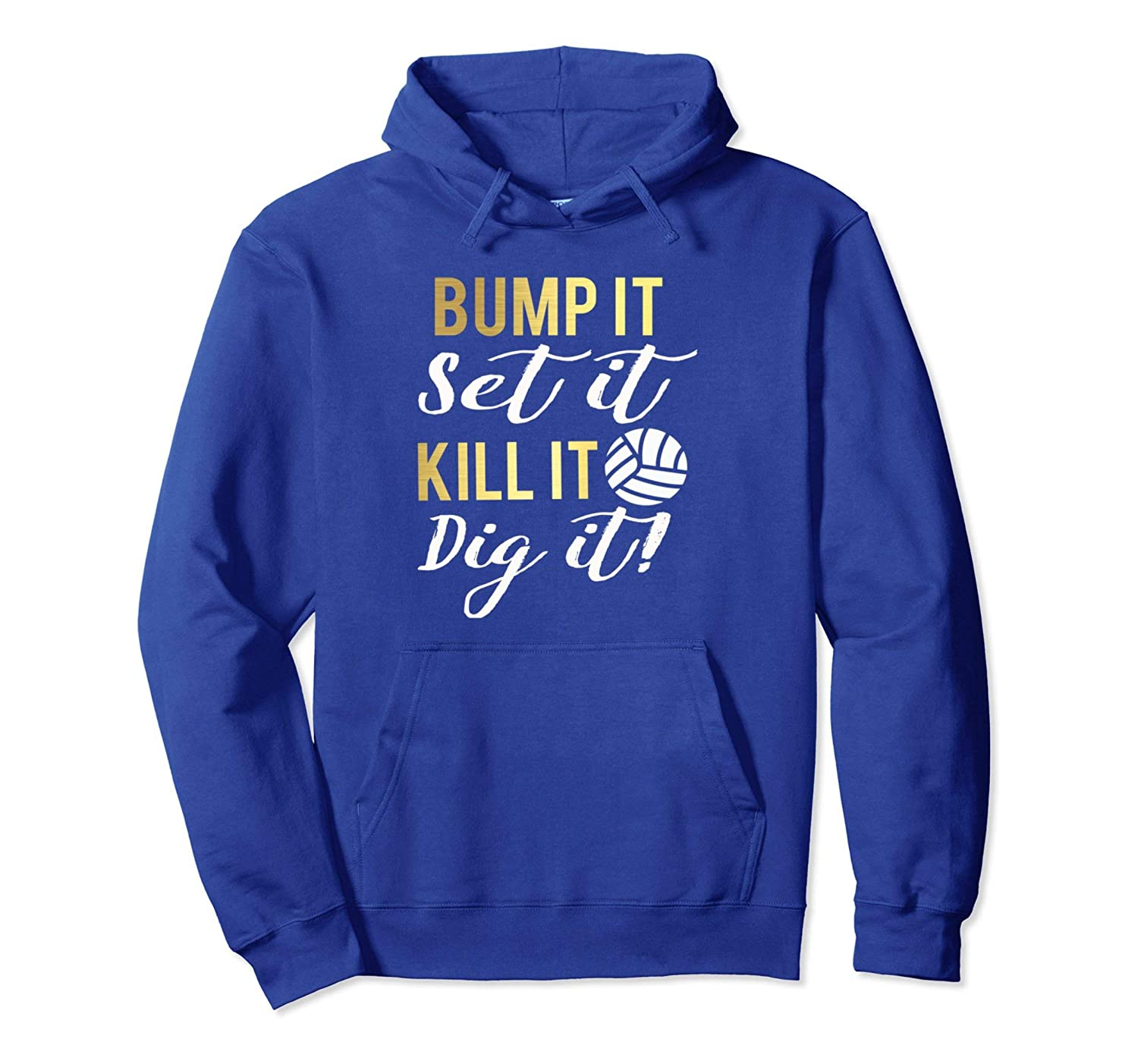 Best Womens & Girls Funny Volleyball Saying Gift Hoodie-ln
