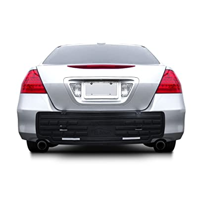 FH Group F16408 F16408BLACK Universal Fit Rear BumperButler Bumper Guard Protector New Improved 2020 Version: Automotive