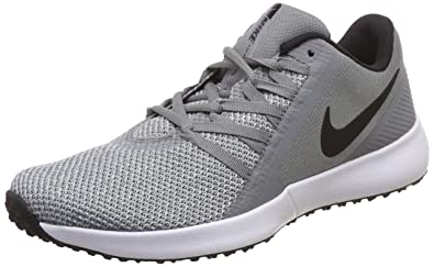 sports shoes 88d6b aeaa5 Nike Men s Varsity Compete Trainer Cool Grey Black Multisport Training Shoes-10  (AA7064
