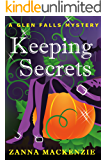 Keeping Secrets: A romantic cozy mystery laced with magic (Glen Falls Mystery Book 1)