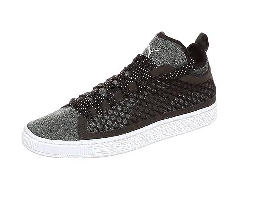 Puma Basket Classic Netfit Sneaker Herren Schuhe Schwarz