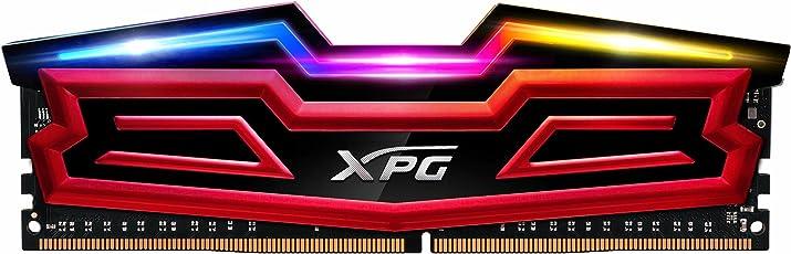 XPG SPECTRIX D40 8GB DDR4 3000MHz módulo de - Memoria (8 GB, 1 x 8 GB, DDR4, 3000 MHz, 288-pin DIMM, Rojo)