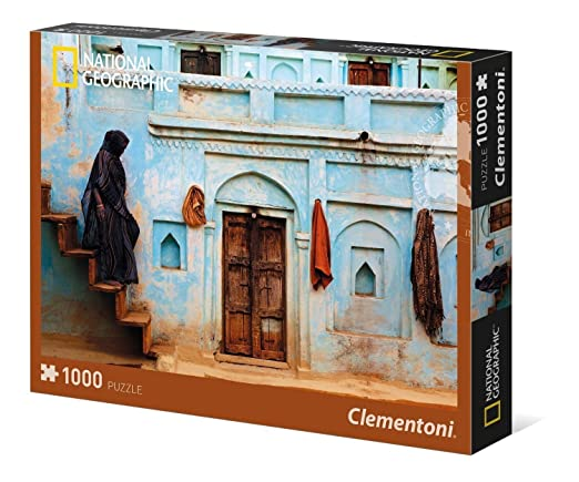 5 opinioni per Clementoni 39311- National Geographic Pastel Facade Puzzle, 1000 Pezzi