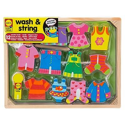 ALEX Toys Little Hands Wash & String: Toys & Games