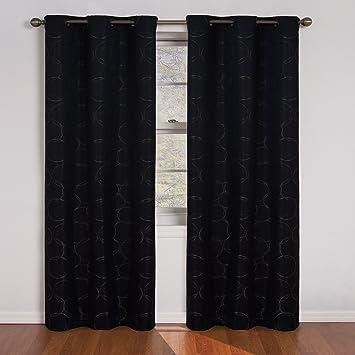 Curtains Ideas curtains eclipse : Amazon.com: Eclipse Meridian Blackout Grommet Window Panel, 42 ...