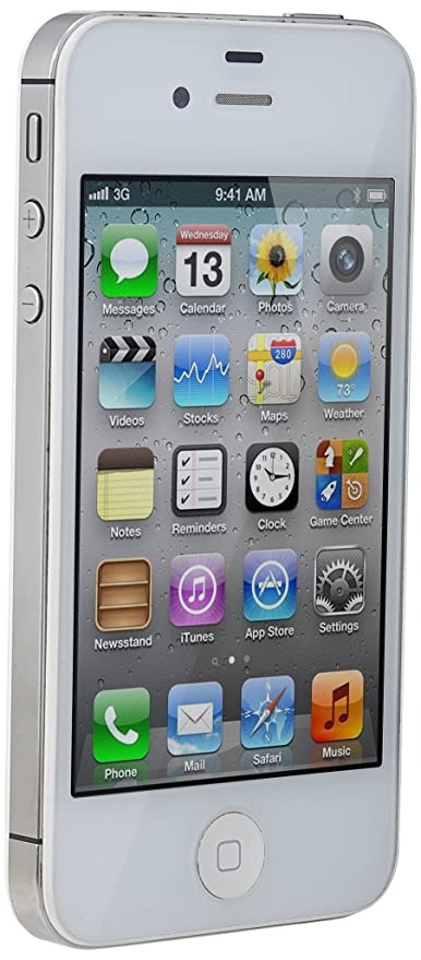 Apple iPhone 4S 32GB Unlocked GSM Smartphone w/ 8MP Camera w/ Siri & iCloud  - White
