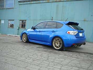 Fits Impreza Wrx Sti Rally Mud Flaps Hatchback 5 Door 2008 2009 2010 2011 2012 Rokblokz Mud Flaps Splash Guards Amazon Canada