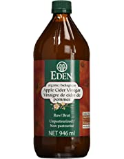 Eden Foods Organic Vinegars-Apple Cider Vinegar-Raw, 946 ml