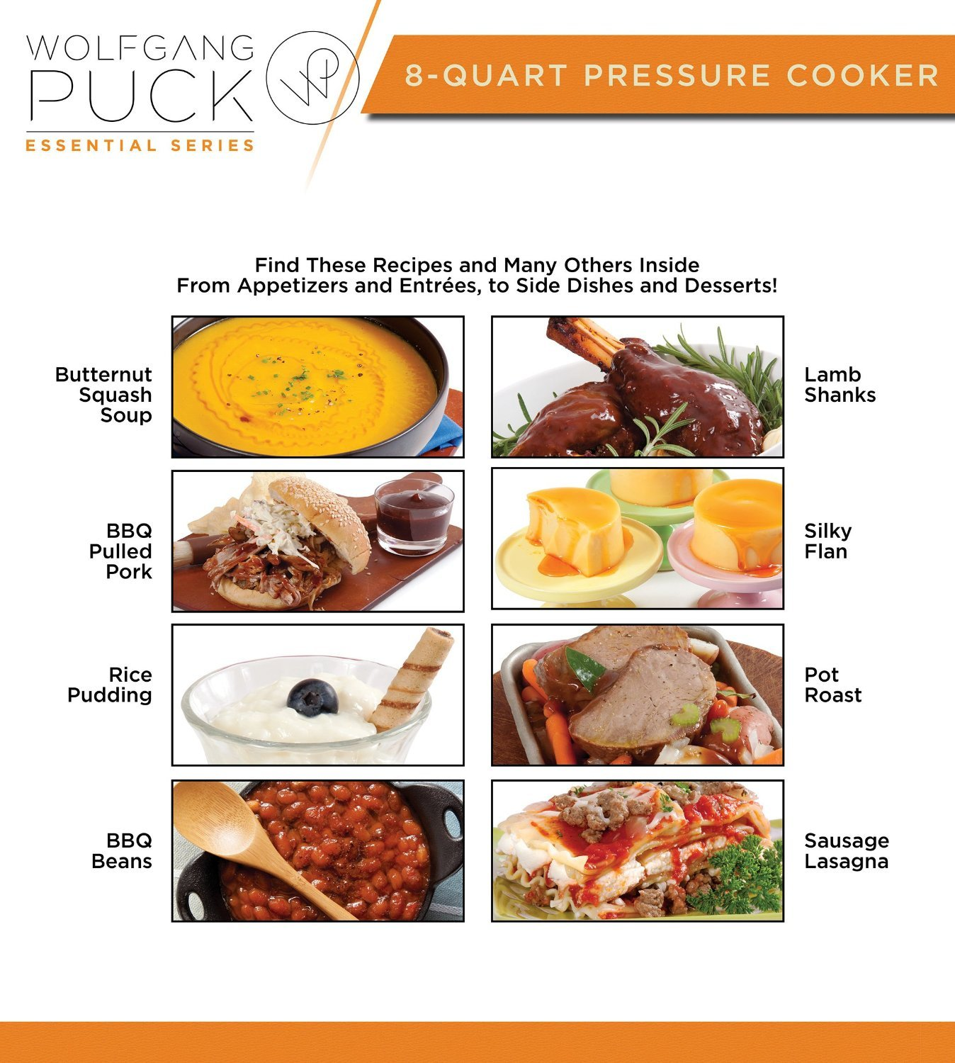 Wolfgang Puck Automatic Pressure Cooker with Removable 8 Quart Pot, 1200-Watt Cook and Sear by Wolfgang Puck (Image #7)
