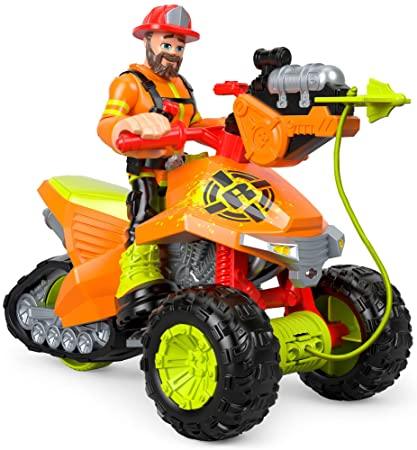 Amazon.com: Rescue Heroes Forrest Fuego & Fire Tracker: Toys ...