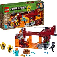 Kit de construcción LEGO® Minecraft™ (372 elementos): El Puente del Blaze (21154)