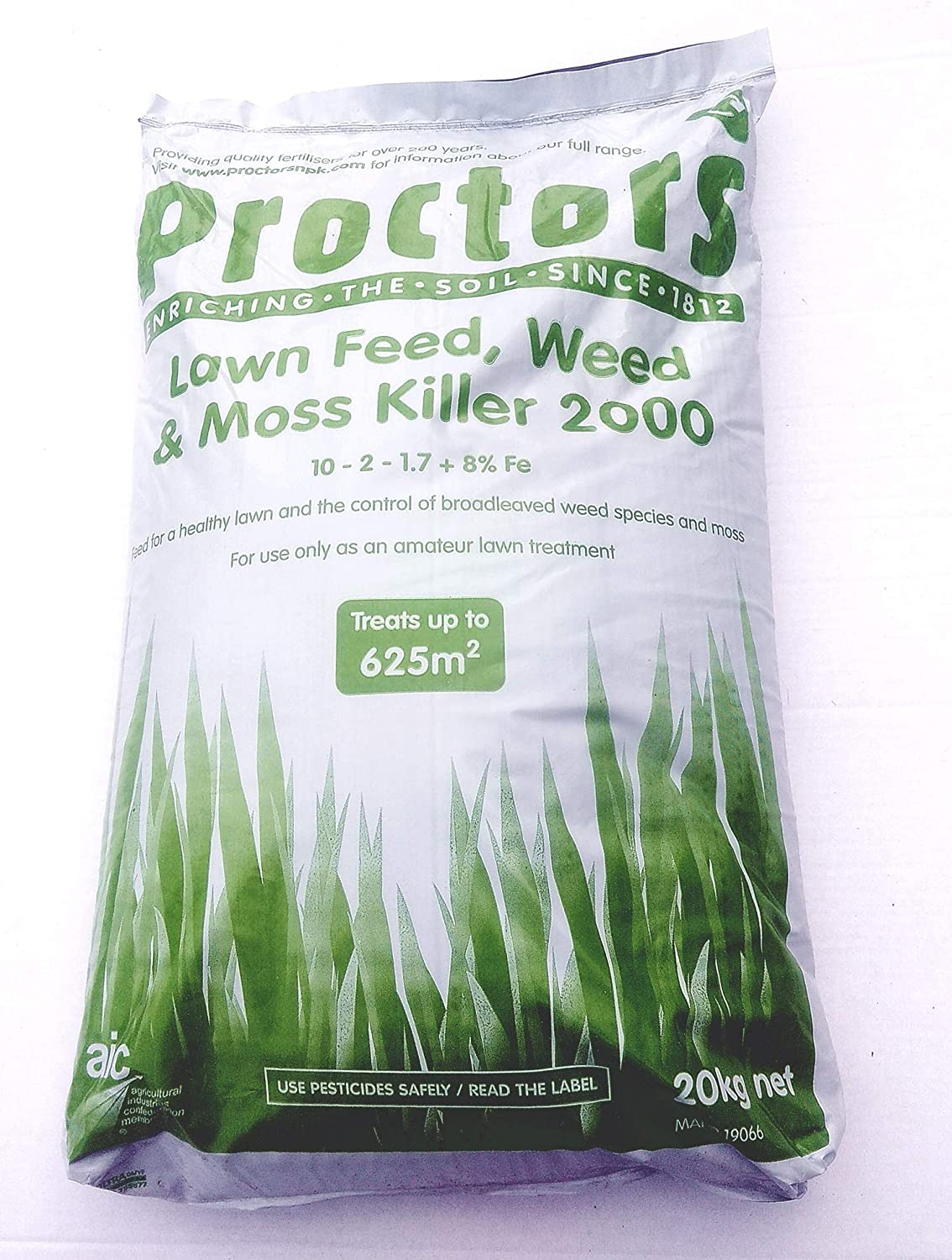 Lawn Fertiliser Weed Feed And Moss Killer 20kg Sack Amazon Co Uk Garden Outdoors
