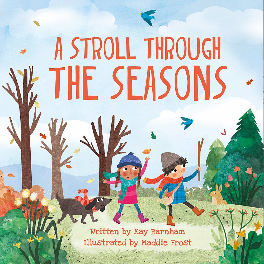 A Stroll Through the Seasons (Look and Wonder) : Barnham, Kay, Frost,  Maddie: Amazon.co.uk: Books