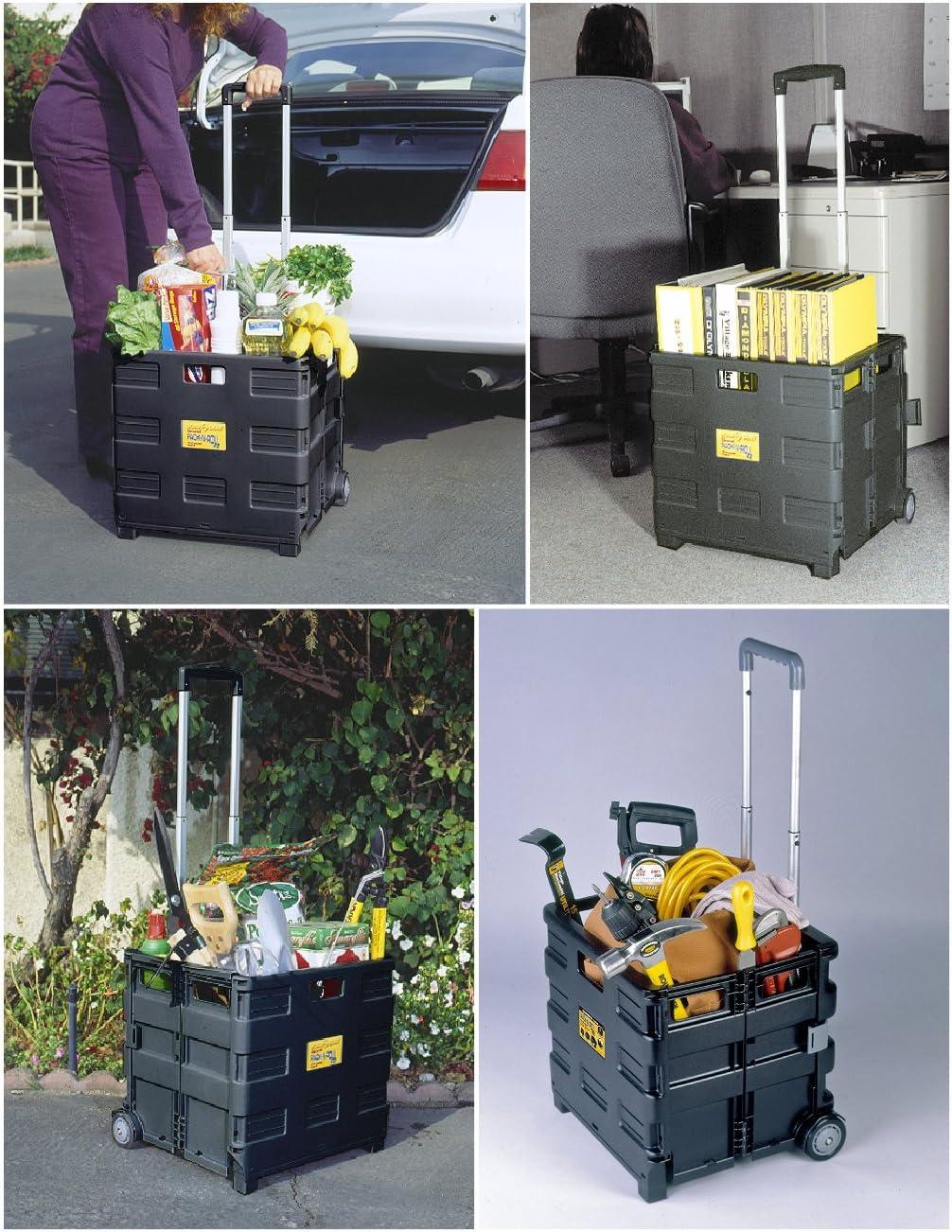 B000UZ0P7I Olympia Tools Grand Pack-N-Roll Portable Cart, 85-010, Black 71ztOoD-XbL