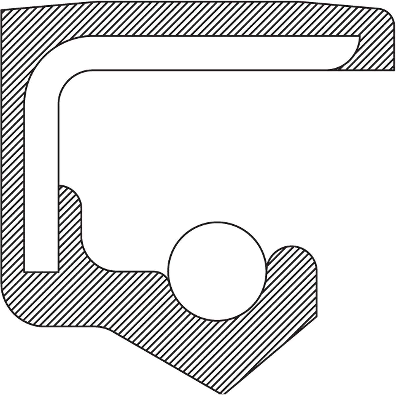 National 710522 Wheel Seal