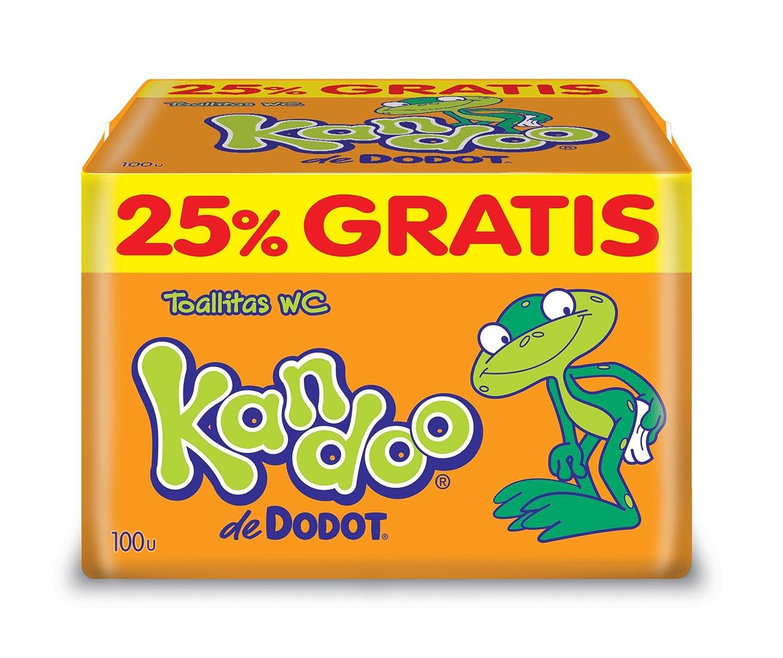 Kandoo de Dodot - Toallitas WC - 100 unidades - [pack de 2] Procter & Gamble 8410108134767