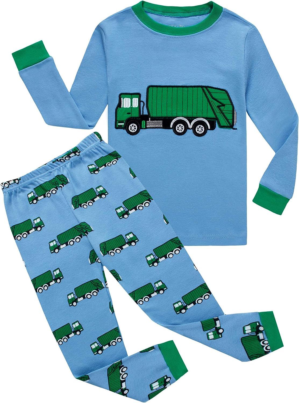 KikizYe Pajamas for Boys Pjs Kids Sleepwears