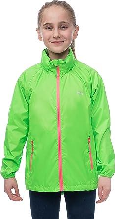 Mac in a Sac Mini Kids Neon Waterproof Packable Jacket