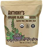 Anthony's Organic Chia Seed, 2.5 lb, Gluten Free, Vegan, Raw, Keto Friendly