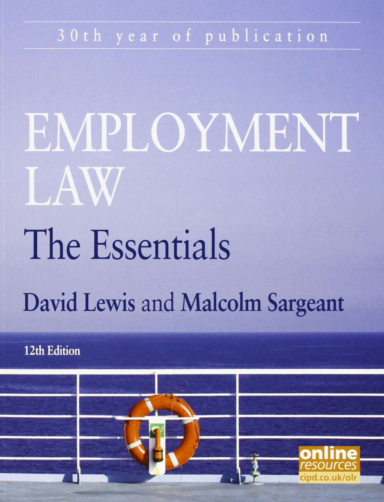 Employment Law: The Essentials: David Lewis, Malcolm Sargeant:  9781843983156: Amazon: Books