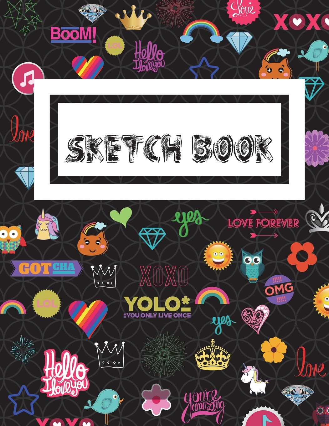 Colorful Kid Sketch Book Black: 8.5x11 110 sheets, 220 pages. Use as: journal; notebook; vision book; dream book; composition; diary; work book. pdf epub