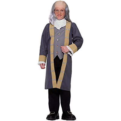 Ben Franklin Child Costume, Large: Toys & Games