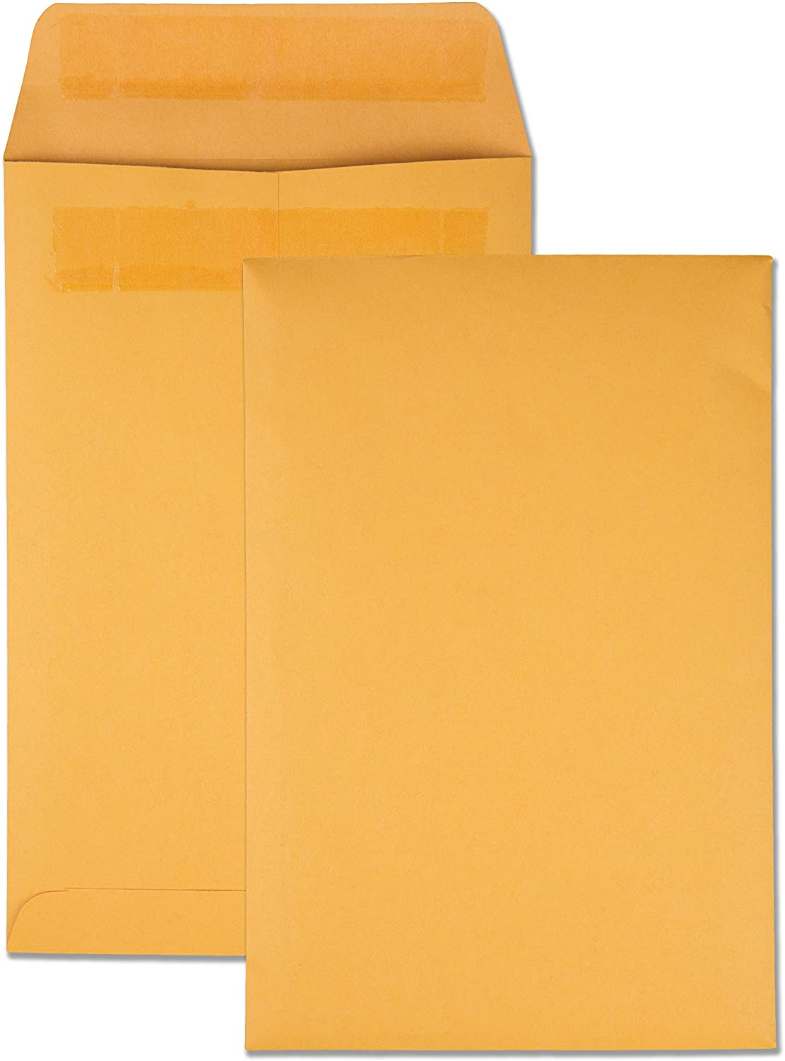 Quality Park Large Format/Catalog Envelopes, Redi-Seal, 6.5 x 9.5, Box of 250 (QUA43362) : Office Products