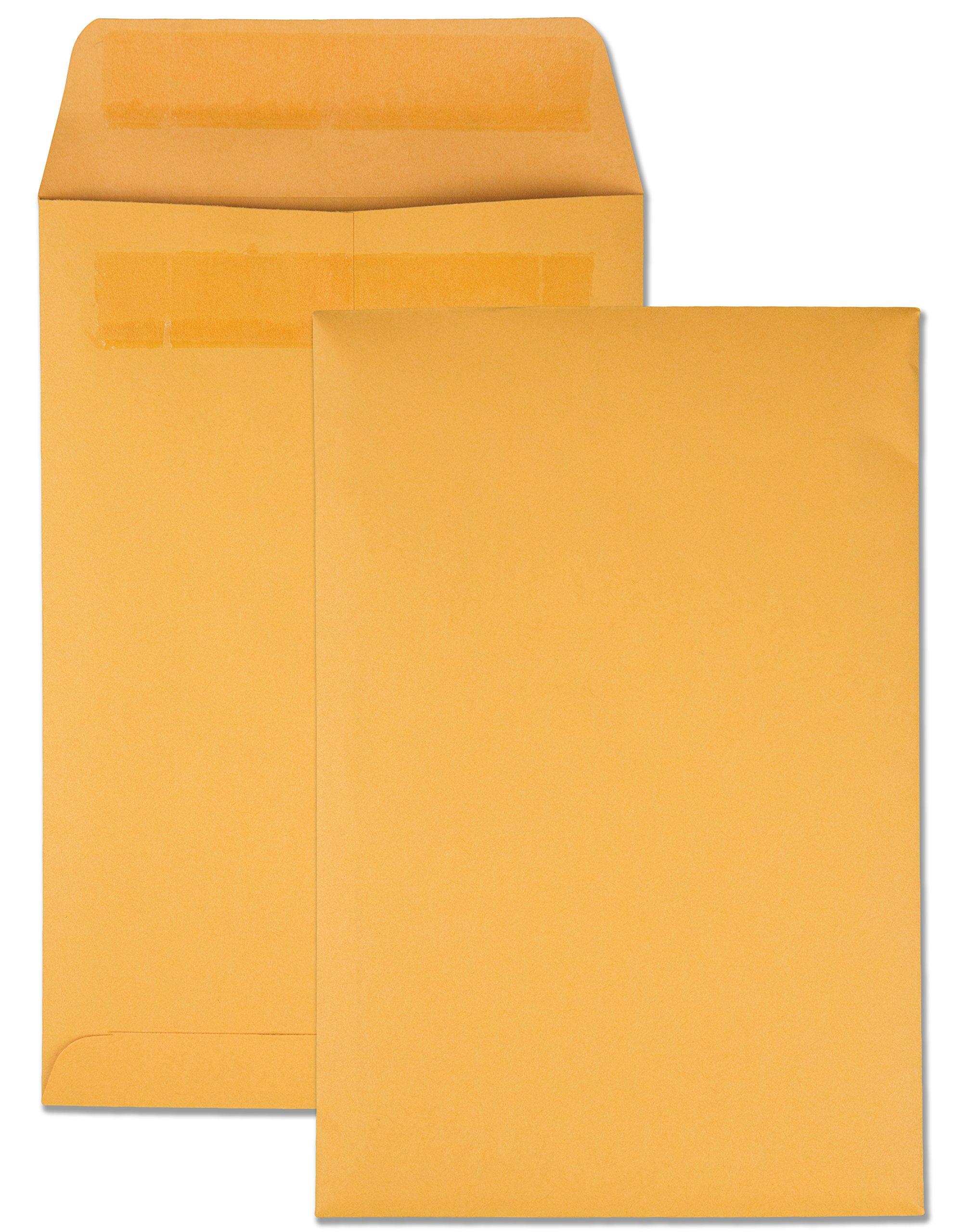 Quality Park Large Format/Catalog Envelopes, Redi-Seal, 6.5 x 9.5, Box of 250 (QUA43362)