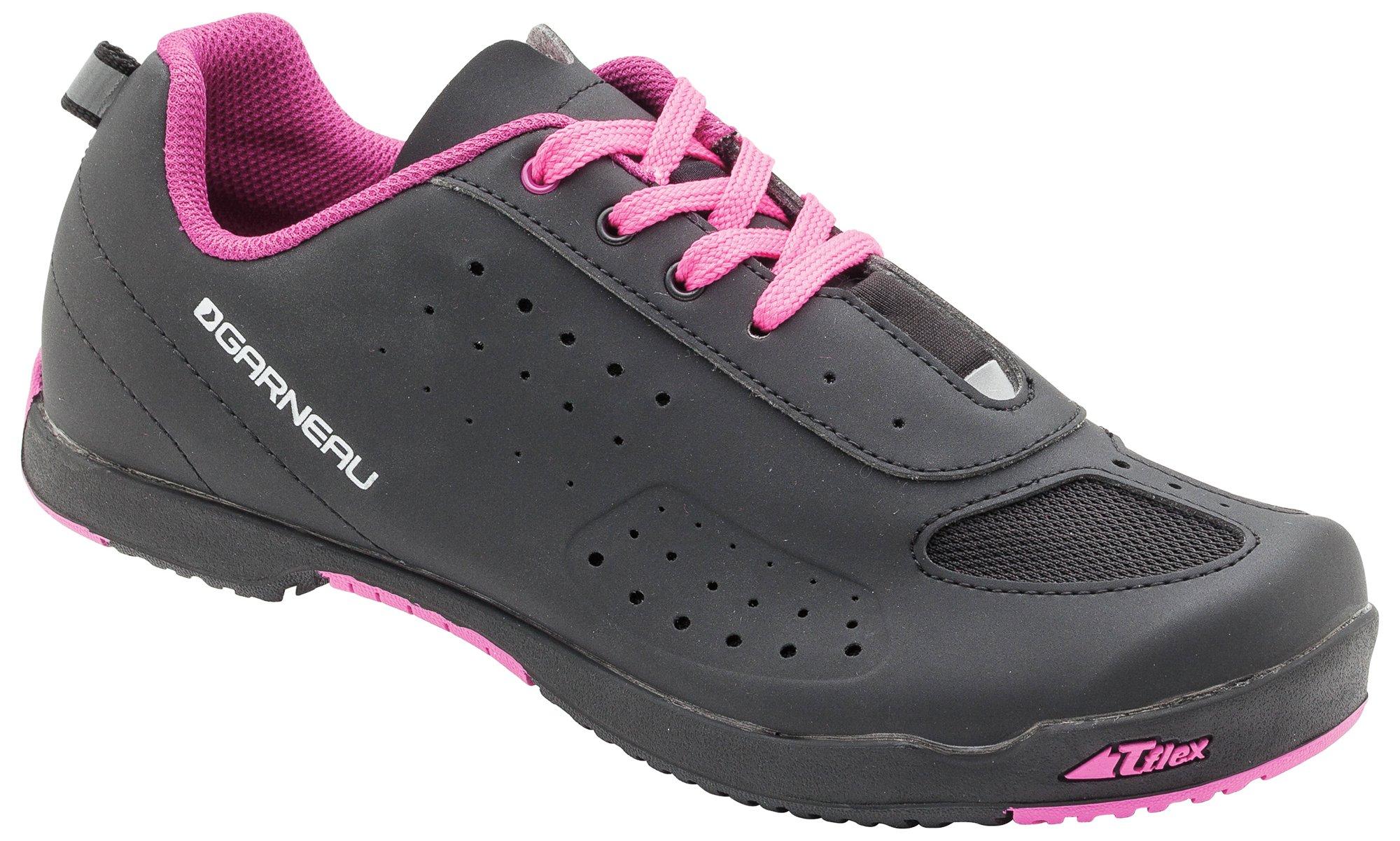 Louis Garneau - Women's Urban Bike Shoes, Black/Pink, US (11), EU (42)