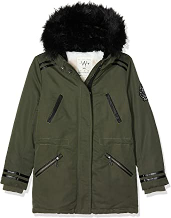 IKKS Manteau imperméable Fille: : Vêtements et