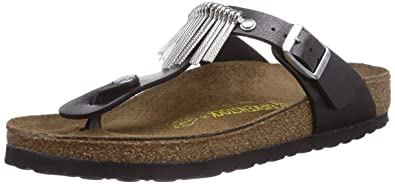 0dd1320834b2 Birkenstock Gizeh Fringe BF Graceful Licor Size 4.5 US Black