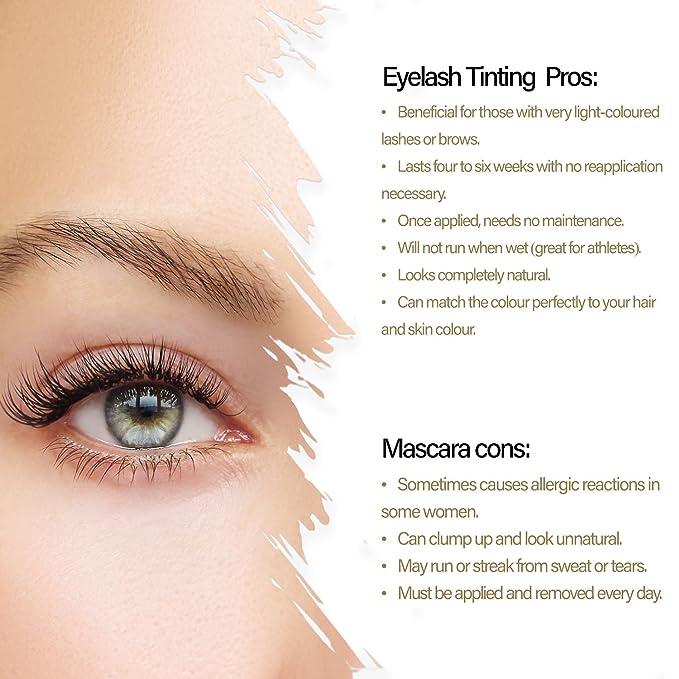 Mylee Permanent Eyelasheyebrow Tint Black Complete Tinting Dye