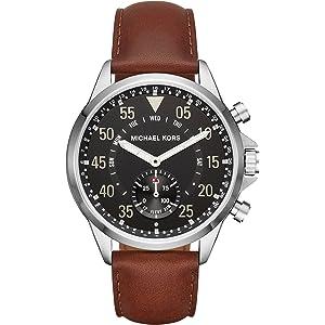 Michael Kors Smartwatch para Hombre de con Correa en Cuero MKT4001