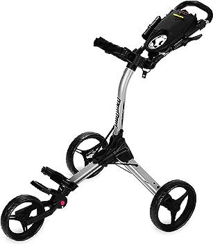 Bag Boy Compact carrito de 3, Compact 3, Silver / Black: Amazon.es: Deportes y aire libre