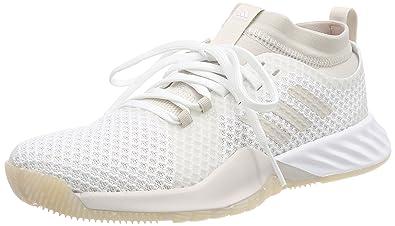 new arrivals d08fe 695ec Adidas Crazytrain Pro 3.0, Chaussures de Fitness Femme, Blanc (Footwear  WhiteChalk