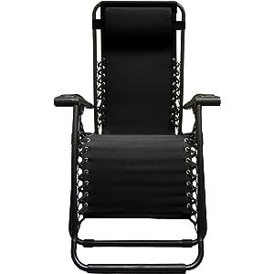 Caravan Canopy Sports Infinity Black Zero Gravity Chair