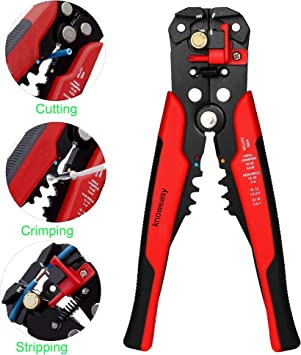 Professional Automatic Cable Wire Stripper Cutter Crimper Plier Hand Tool New
