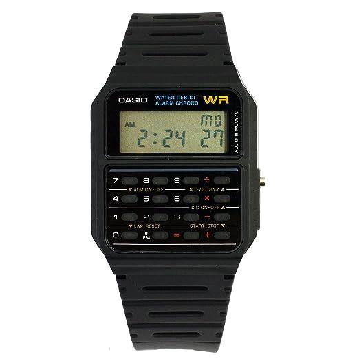 152 opinioni per Casio Databank CA-53W-1ER Orologio Digitale da Polso, Unisex, Resina, Nero