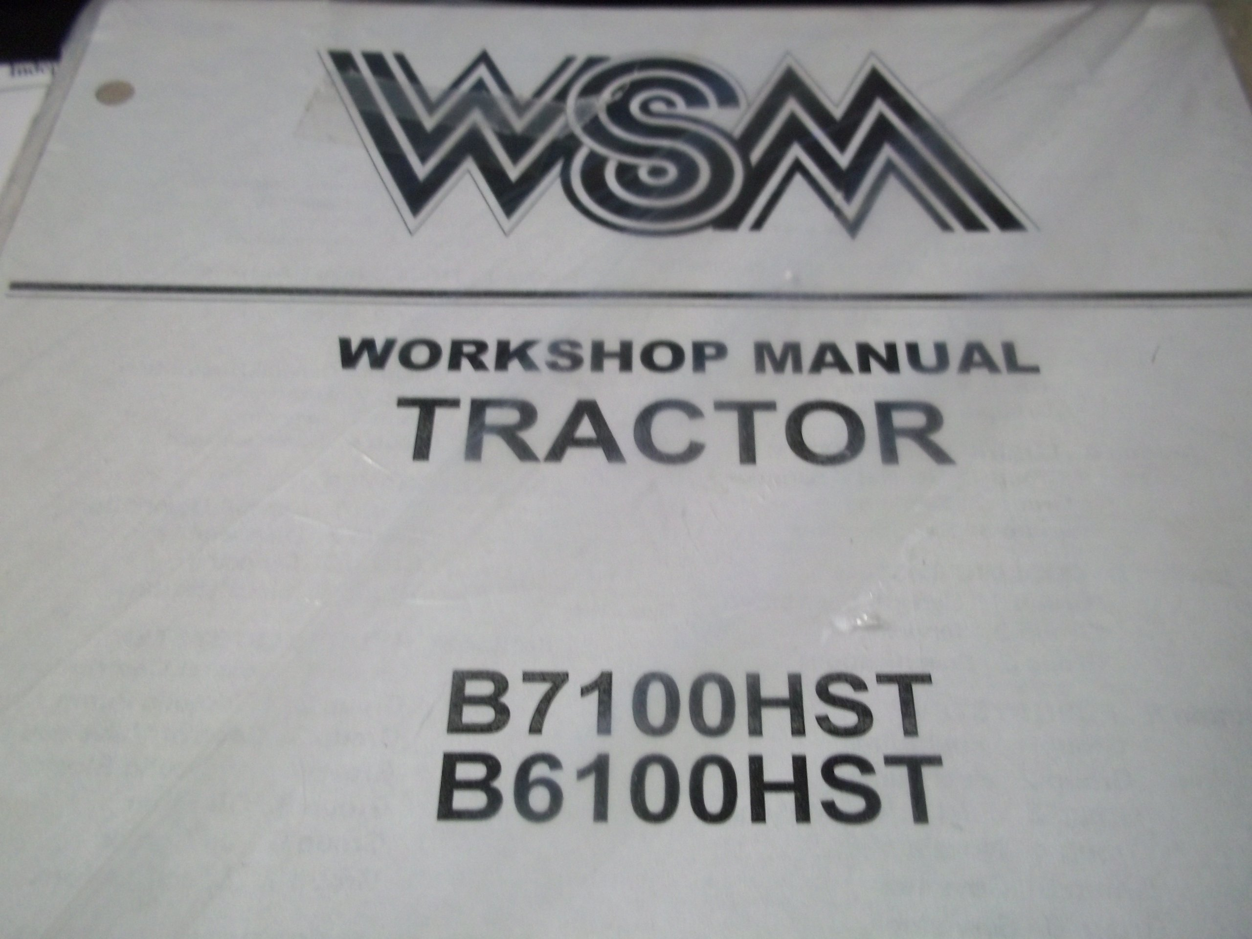 KUBOTA B5100 B6100 B7100 D E TRACTOR OPERATORS OWNERS MANUAL BOOK B5100D B6100D
