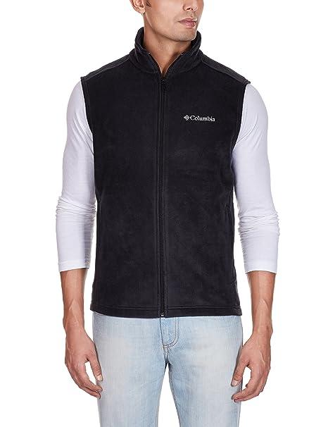 51e18be89493d1 Columbia Men's Cathedral Peak Front-Zip Fleece Vest: Amazon.ca: Clothing &  Accessories