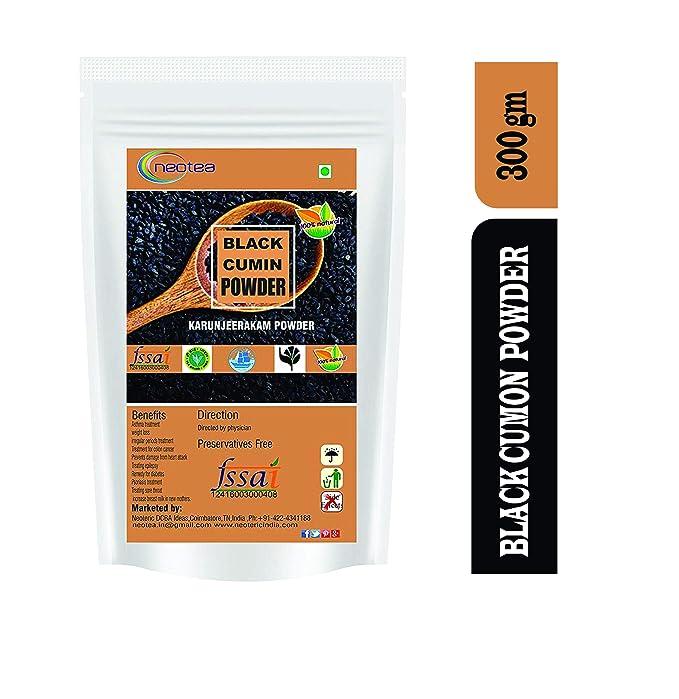 Neotea Karunjeeragam/Black Cumins/Kala Jeera Powder, 300Gm