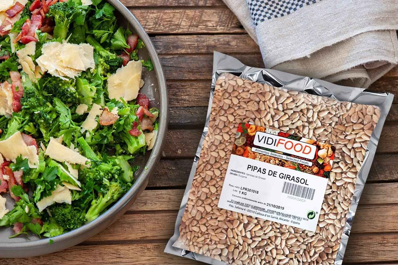 VidiFood Semillas de Girasol - 1kg: Amazon.es: Alimentación y bebidas