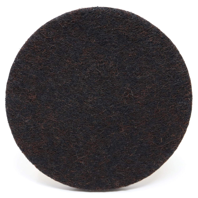 4 x patins en feutre | Ø 12 mm | marron | ronde | patins glisseurs auto-adhésif haut de gamme de Adsamm®