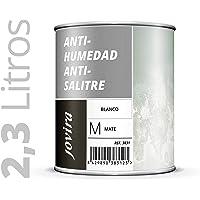 PINTURA ANTIHUMEDAD ANTISALITRE BLANCO MATE, impermeabilizante, Proteccion