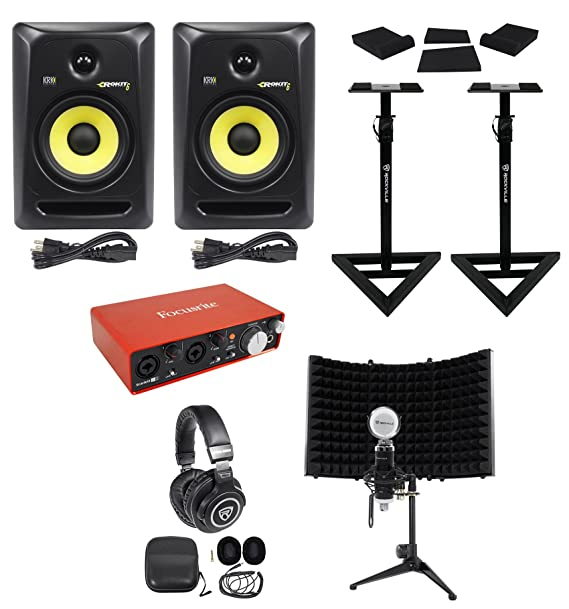 Amazon.com: Focusrite+KRK Package w/Interface+6