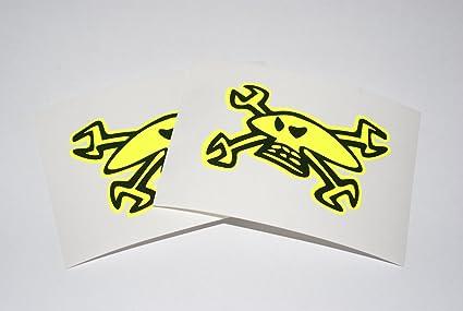 Rapro Graphics Guy Martin Logo Decal Mirrored Pair